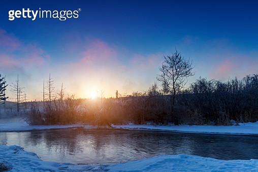 Winter landscape - gettyimageskorea