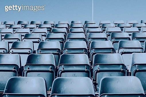 Empty Chairs In Stadium - gettyimageskorea