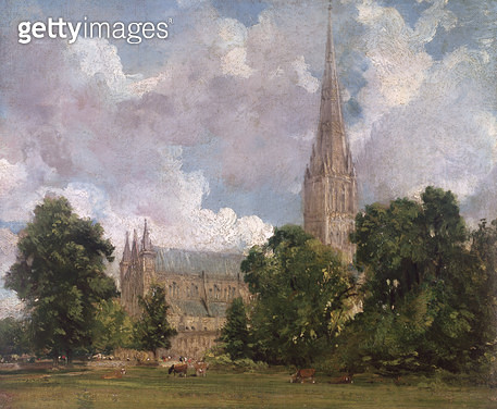 Salisbury Cathedral from the south west - gettyimageskorea