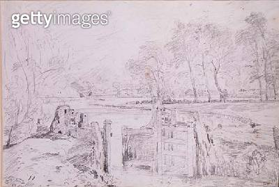 A Lock on the Stour - gettyimageskorea
