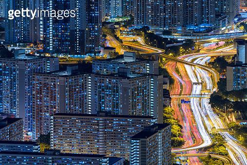 Hong Kong Skyline - gettyimageskorea