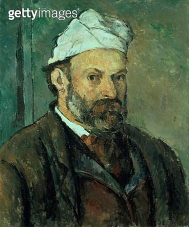 Self portrait, 1875-77 (oil on canvas)<br>Self portrait, 1875-77 - gettyimageskorea