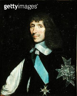 <b>Title</b> : Leon Bouthilier (1608-52) Comte de Chavigny, after 1643 (oil on canvas)<br><b>Medium</b> : oil on canvas<br><b>Location</b> : Chateau de Versailles, France<br> - gettyimageskorea