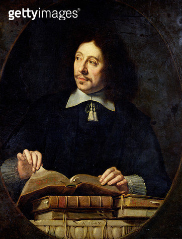 <b>Title</b> : Portrait presumed to be Etienne Delafons, 1648 (oil on canvas)<br><b>Medium</b> : oil on canvas<br><b>Location</b> : Louvre, Paris, France<br> - gettyimageskorea