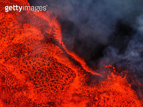 Lava, Bardarbunga eruption, The Vatnajokull National Park, Iceland - gettyimageskorea