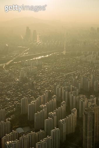Smoggy Seoul - gettyimageskorea