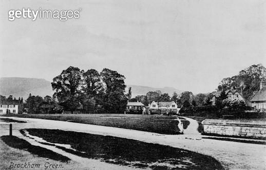 Brockham Green, near Dorking, Surrey. - gettyimageskorea