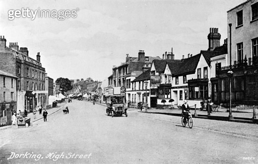 High Street, Dorking, Surrey. - gettyimageskorea