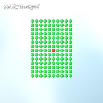 grid of spheres - gettyimageskorea