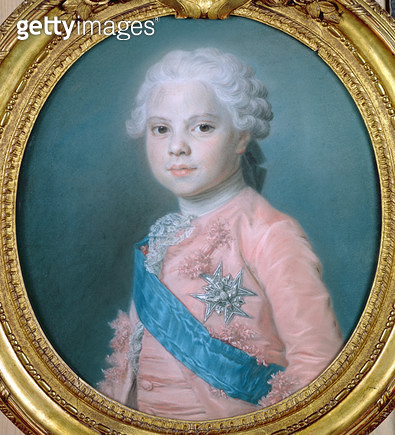 <b>Title</b> : Portrait of Louis of France (1755-1824) Count of Provence and future King Louis XVIII (pastel)<br><b>Medium</b> : pastel<br><b>Location</b> : Louvre, Paris, France<br> - gettyimageskorea
