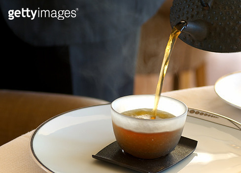 Close-Up Of Tea Cup On Table - gettyimageskorea