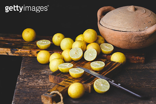 Yellow Lemons - gettyimageskorea