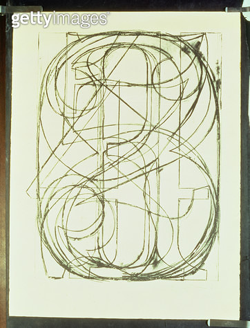 <b>Title</b> : 0 through 9 (Field 4), 1960 (litho)<br><b>Medium</b> : lithograph<br><b>Location</b> : Private Collection<br> - gettyimageskorea