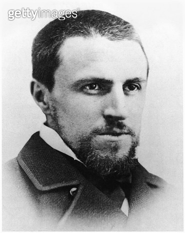 <b>Title</b> : Gustave Caillebotte (1848-94) 1874 (b/w photo)Additional Infophoto kept in the family archives;<br><b>Medium</b> : <br><b>Location</b> : Private Collection<br> - gettyimageskorea