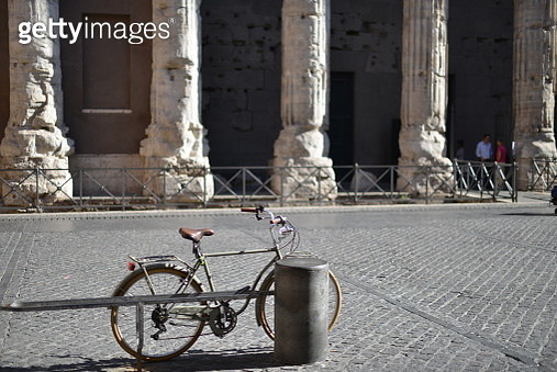 Temple of Hadrian in Piazza of Stone - gettyimageskorea