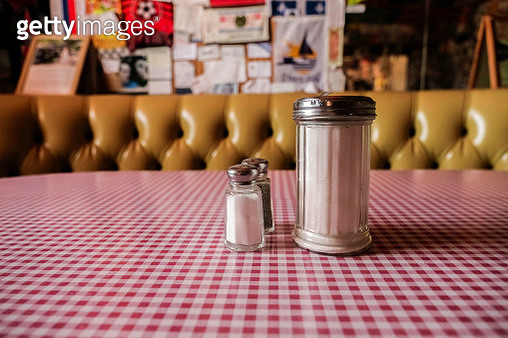Old fashioned Diner condiments - gettyimageskorea
