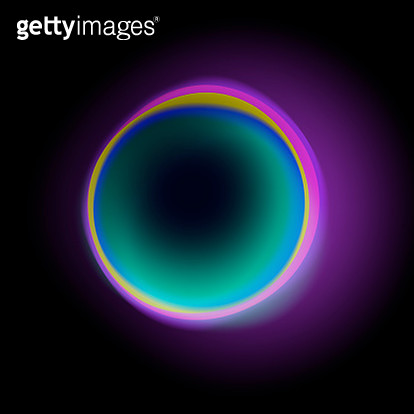Void, black hole, space, colour refraction - gettyimageskorea