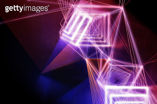 light installation, lasers and light art - gettyimageskorea
