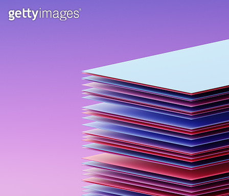 Stacked rectangles - gettyimageskorea
