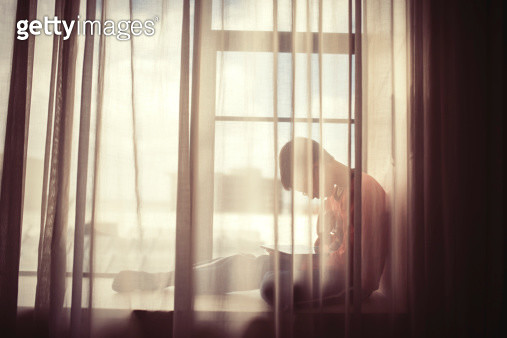 Working at the window - gettyimageskorea