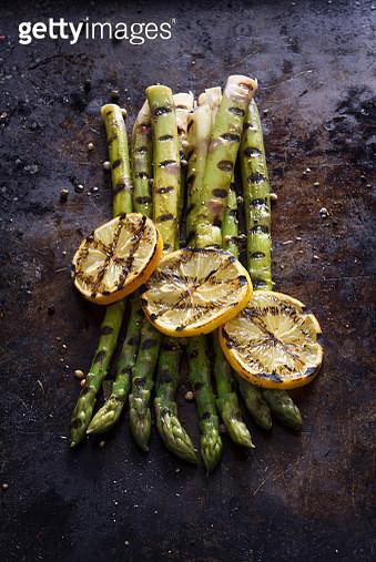 Grilled asparagus - gettyimageskorea