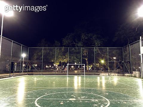 Soccer ball court - gettyimageskorea