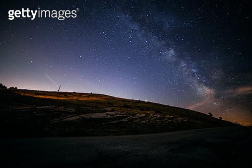 Milky Way Night Sky - gettyimageskorea