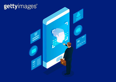 Face recognition technology - gettyimageskorea