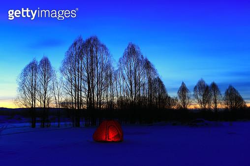 Greater Khingan Range snow in Heilongjiang Province,China - gettyimageskorea