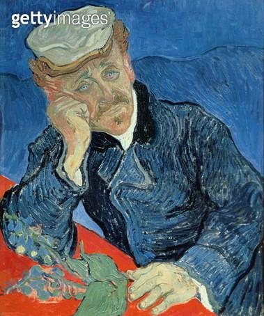 Dr. Paul Gachet, 1890. Vincent Van Gogh - gettyimageskorea