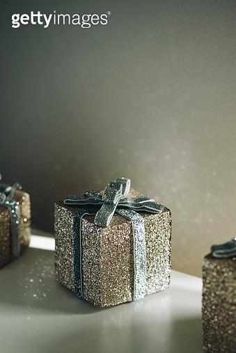 Shiny Gift Box - gettyimageskorea