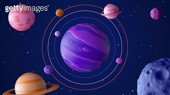 3D Outer Space - gettyimageskorea