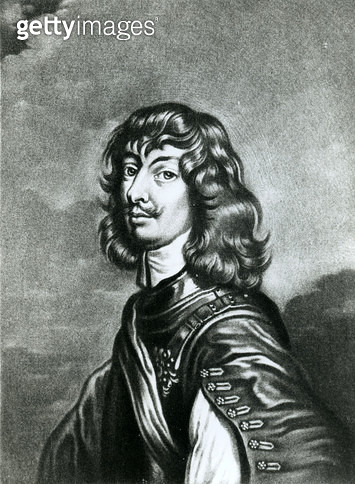 <b>Title</b> : Portrait of Algernon Percy, tenth Earl of Northumberland (1602-68), engraved by Robert Dunkarton (1744-c.1817) (engraving) (b/w<br><b>Medium</b> : <br><b>Location</b> : Private Collection<br> - gettyimageskorea
