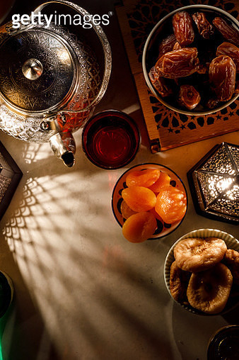 High Angle View Of Food On Table - gettyimageskorea