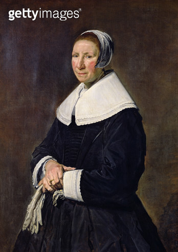 <b>Title</b> : Portrait of a Woman (oil on canvas)<br><b>Medium</b> : oil on canvas<br><b>Location</b> : Louvre, Paris, France<br> - gettyimageskorea