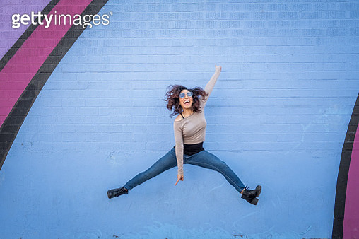 Hispanic Young woman with Positive Attitude - gettyimageskorea