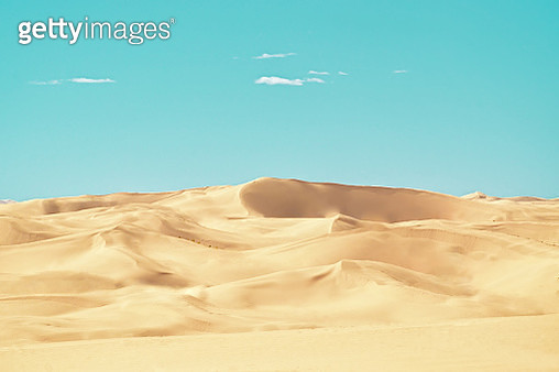 Scenic View Of Desert Against Sky - gettyimageskorea