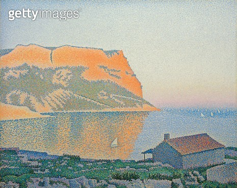 <b>Title</b> : Cap Canaille, Cassis<br><b>Medium</b> : <br><b>Location</b> : Private Collection<br> - gettyimageskorea