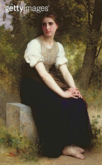 <b>Title</b> : The Song of the Nightingale, c.1895 (oil on canvas)<br><b>Medium</b> : oil on canvas<br><b>Location</b> : The Dayton Art Institute, Dayton, Ohio, USA<br> - gettyimageskorea