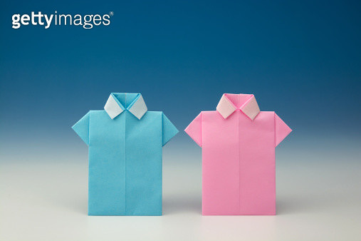 Japanese Paper Origami Shirts - gettyimageskorea