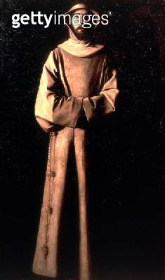 <b>Title</b> : St. Francis of Assisi<br><b>Medium</b> : <br><b>Location</b> : Museu de Arte de Catalunya, Barcelona, Spain<br> - gettyimageskorea