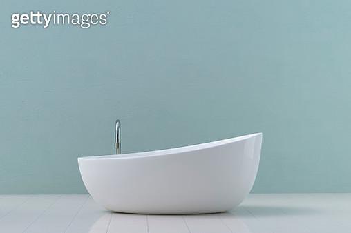 Modern bathtub, 3D Rendering - gettyimageskorea