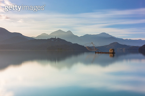Scenery the famous attraction in Taiwan, Asia. Sun Moon Lake, Sun Moon Lake in Taiwan - gettyimageskorea
