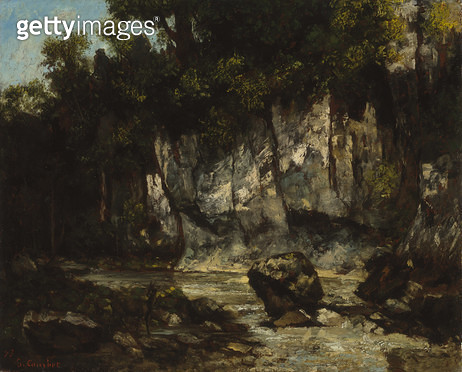 <b>Title</b> : Landscape with Stag, 1873 (oil on canvas)<br><b>Medium</b> : oil on canvas<br><b>Location</b> : Art Gallery of New South Wales, Sydney, Australia<br> - gettyimageskorea