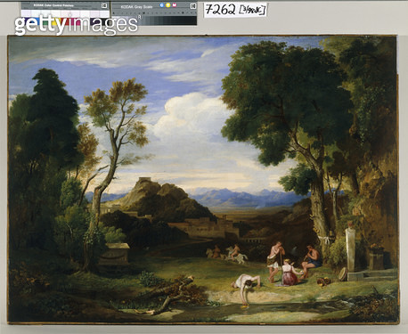 Classical Landscape/ c.1825-30 (oil on canvas) - gettyimageskorea