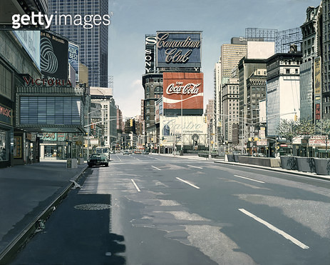 <b>Title</b> : The Canadian Club, 1974, New York Townscape<br><b>Medium</b> : <br><b>Location</b> : Private Collection<br> - gettyimageskorea