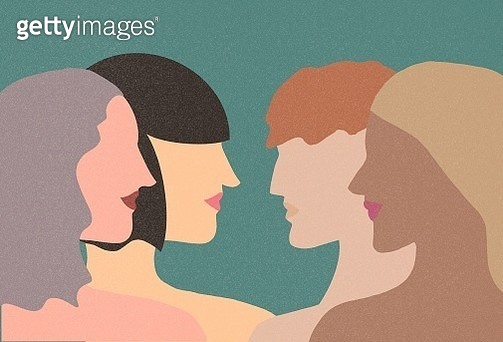 hugging, girl, women, empower, strong, confidence, hobby, group, one person, feminist - gettyimageskorea