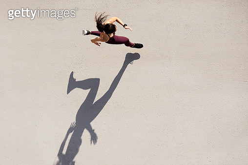 Lifestyles running, made in Barcelona. - gettyimageskorea