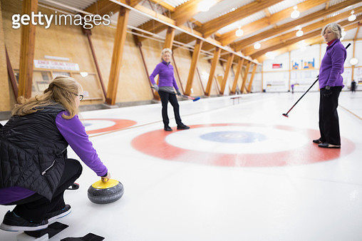 Senior women curling - gettyimageskorea