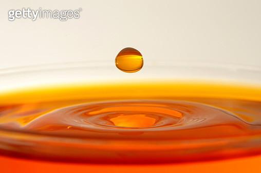 Close-Up Of Drop Over Tea - gettyimageskorea